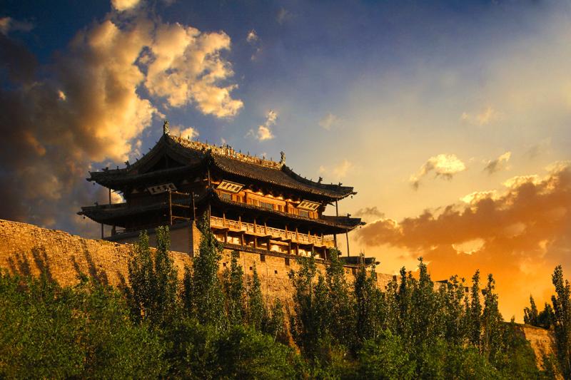 蔚州古城玉皇阁图片